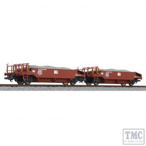 L230113 Liliput HO Scale Ballast Wagon Set with Ballast Load SOB Ep.VI