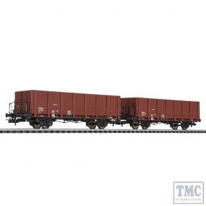 L230124 Liliput HO Scale Planked Wagon Set SBB-CFF Ep.IV