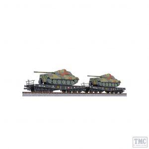 L230145 Liliput HO Scale 2-unit tank transport set