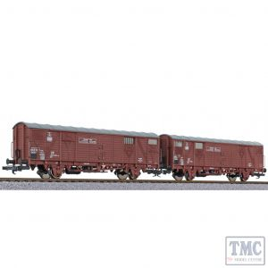 L230154 Liliput HO Scale 2-unit set ferryboat wagon type Hfs 312 DB Ep.IV light [W]