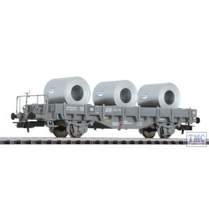 L235052 HO Scale Liliput Stanchion Wagon with Steel Coils SBB Ep.IV
