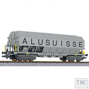 L235560 Liliput HO Scale Special transport wagon type Uacos ALUSUISSE SBB-CFF Ep.IV