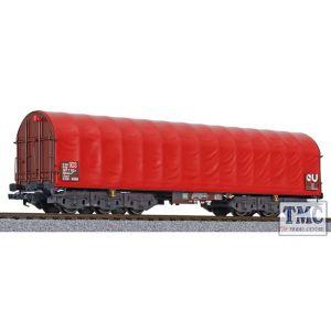 L235796 Liliput N Scale Coil transporter Sahimms-u 901 red tarpaulin DB AG Ep.V