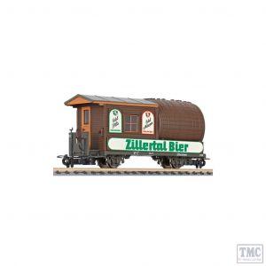 L240001 Liliput HOe Scale Barrel wagon Zillertalbahn period V