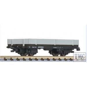 L245183 Liliput HOe Scale Flat car with aluminium boards for draisines