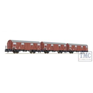L260130 Liliput N Scale 3-unit set Glmhs 50 DB period III 1959 cabin