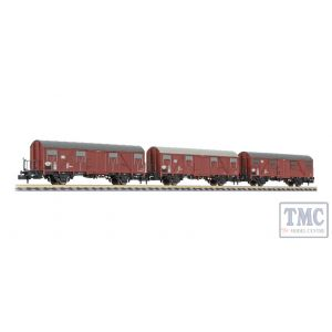 L260132 Liliput N Scale 3-unit set Gos 245 DB period IV 1986 platform