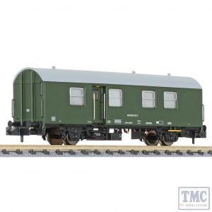 L265032 Liliput N Scale Rebuilt maint. wagon Wohn-Schlafwagen 434 green DB AG EpVI