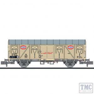 L265052 Liliput N Scale Closed wagon type Glmhs Dr. Oetker DB Ep.III