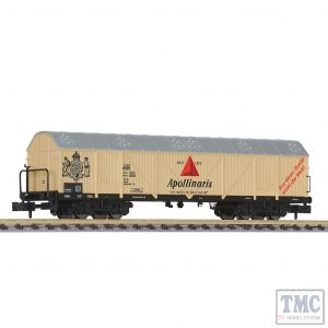 L265657 Liliput N Scale Four Axle Refrigerated Wagon 'Apollinaris' DB Ep.IV