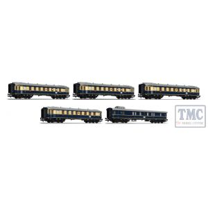 L330500 Liliput HO Scale Five Coach Set 'Karwendel Express' DRG Ep.II