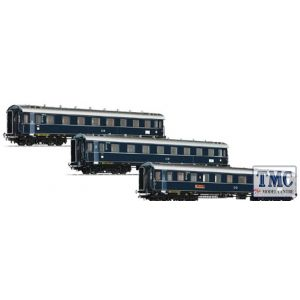 L330501 Liliput HO Scale Three Coach Set 'Dompfeil' DB Ep.III