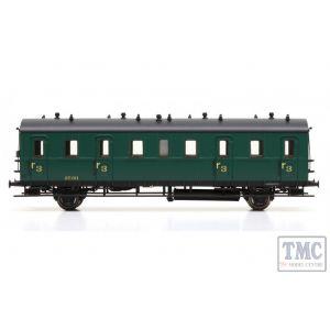 L334052 Liliput HO Scale Passenger Coach 3rd Class Cdtr-21/31 27.311 SNCB Ep.II