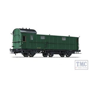 L334405 Liliput HO Scale Baggage Coach Pw3 37.407 SNCB Ep.II