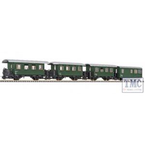 L340505 Liliput HOe Scale 4-unit set, 2-axle coach, …BB, Ep.III
