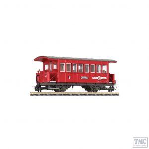 L344350 Liliput HOe Scale 2-axle coach Bi Jenbach Zillertalbahn (new platform)