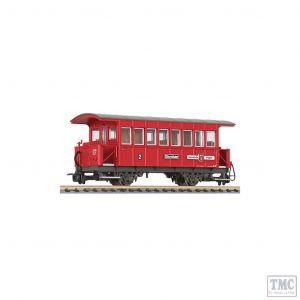L344351 Liliput HOe Scale 2-axle coach Bi FŸgen Zillertalbahn (new platform)