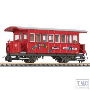 L344357 Liliput HOe Scale Passenger coach type Bi Aschau B 20 Zillertalbahn Ep.VI