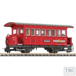 L344359 Liliput HOe Scale Passenger coach type Bi Finkenberg AB 3 Zillertalbahn EpVI