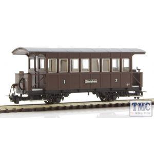 L344361 Liliput HOe Scale Coach ABi/s of the Zillertalbahn, no. ABi 2, epoch III b