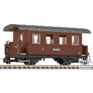 L344363 Liliput HOe Scale 2-axle coach, AB1, Zillertalbahn, Ep.III