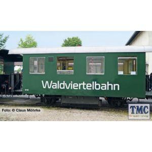 L344380 Liliput HOe Scale 2-axle coach, Waldviertelbahn, Ep.VI