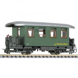 L344383 Liliput HOe Scale 2-Axle Coach No. 901 JausenstŸberl Waldviertelbahn Ep.VI