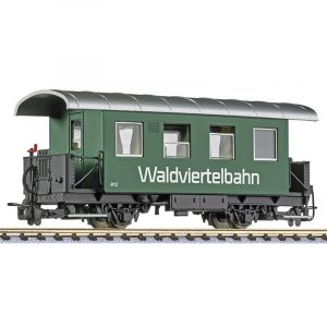 L344385 Liliput HOe Scale 2-Axle Coach No. 912 Waldviertelbahn Ep.VI