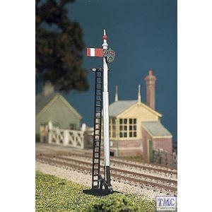 467 Ratio GWR Round Post (2 single post signals) OO Gauge Plastic Kit