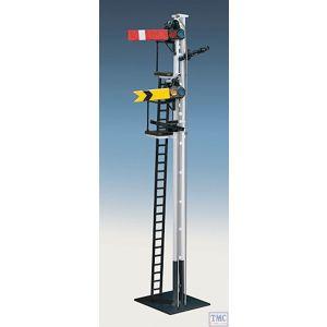 493 Ratio SR Rail Built Signal Kit OO Gauge Plastic Kit