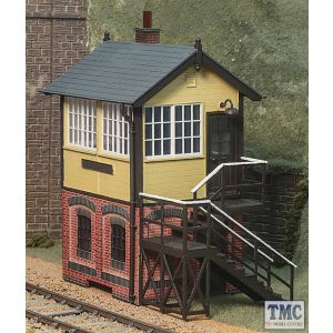 LK-715 Peco O Gauge Brick Base Signal Box Plastic Kit