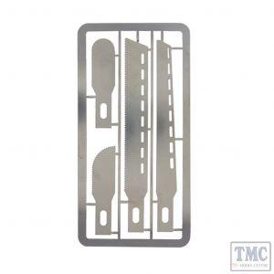 MM020 Bachmann Modelmaker Mini Saw Blades Set (x4 Blades)