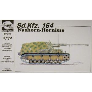 Planet Models No. MV030 1:72 Sd.Kfz. 164 Nashorn-Hornisse (Pre owned)
