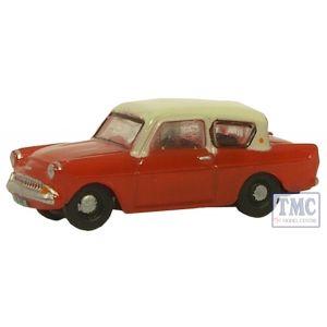 N105001 Oxford Diecast 1:148 Scale Maroon/Cream Anglia