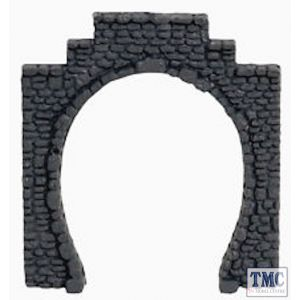 N34400 Noch N Scale Tunnel Entrance Single Track 5.5x6.5cm Granite (2)