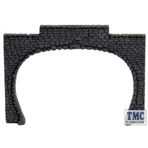 N34410 Noch N Scale Tunnel Entrance Double Track 9.5x6.7cm Granite (2)