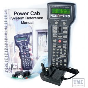 524-042 Power Cab-UK NCE Entry level DCC Starter Set with 240VAC power supply/UK power cord