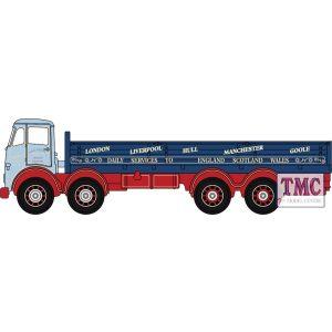 NFG014 Oxford Diecast  Foden FG 8 Wheel Dropside Dennys Transport