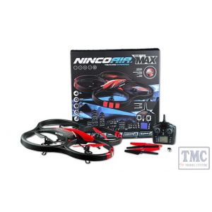 Nincoair Helis NH90084 Quadrone Quadcopter Helicopter Nano Max With Built in High Quality Camera Recording