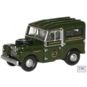 NLAN188001 Oxford Diecast 1:148 Scale Civil Defence Land Rover 88