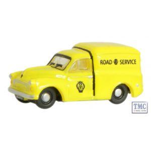 NMM016 Oxford Diecast 1:148 Scale AA Morris 1000 Van