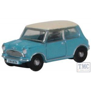 NMN008 Oxford Diecast 1:148 Scale Mini Surf Blue/OEW