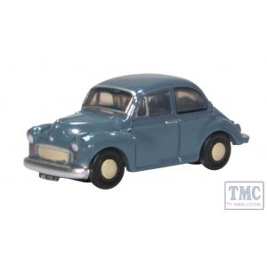 NMOS006 Oxford Diecast 1/148 Scale N Gauge Morris Minor Saloon Clipper Blue