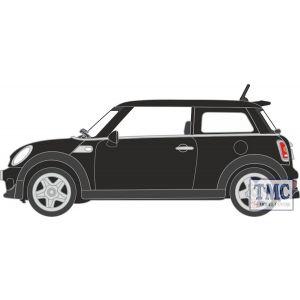 NNMN003 Oxford Diecast  New Mini Cooper S Midnight Black