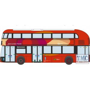 NNR008 Oxford Diecast 1:148 Scale New Routemaster East London Transit