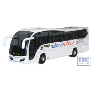 NPE001 Oxford Diecast 1:148 Scale National Express Plaxton Elite