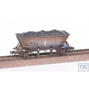 NR-304 Peco N Gauge MGR Coal Hopper HAA Saltire Livery Weathered by TMC