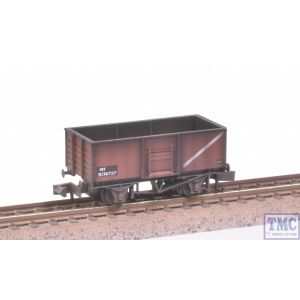 NR-44FC Peco N Gauge Coal Wagon Butterley Steel Type Bauxite no.B174727 with Extra Detail Weathering by TMC