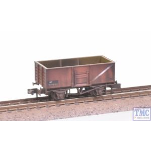 NR-44FW Peco N Gauge Coal Wagon Butterley Steel Type Bauxite with Extra Detail Weathering by TMC