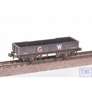 NR-7W Peco N Gauge Tube Wagon GW Dark Grey with Extra Detail Weathering by TMC